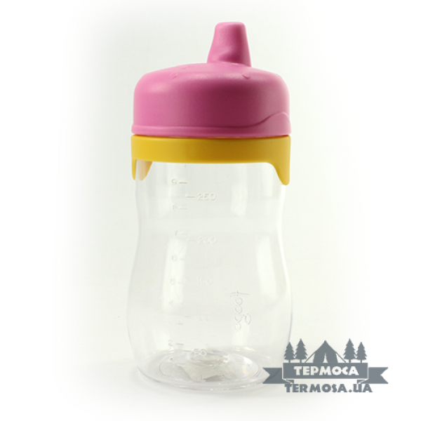 Бутылочка Thermos Pink Foogo Plastic Hard Spout Sippy Cup 0,33L (132)