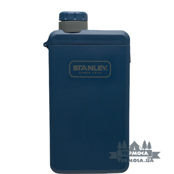Фляга Stanley Adventure eCycle Flask 207ml – Navy (266)