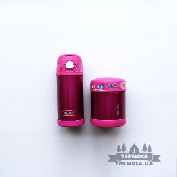Набор Thermos FUNtainer Lunch set - Pink (195)
