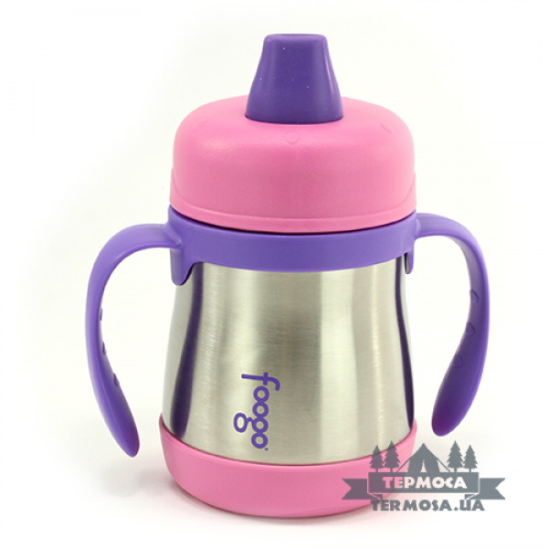 Термопоилка Thermos Foogo Soft Spout Sippy Cup 0,2L - Pink (100)