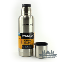 Термос Stanley Adventure Vacuum Bottle 0,75L - Stainless (293)