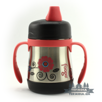 Термопоилка Thermos Poppy Patch Foogo Soft Spout Sippy Cup 0,2L (146)