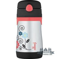 Термобутылка Thermos Poppy Patch Foogo Spout Sippy Straw Bottle 0,3L (142)