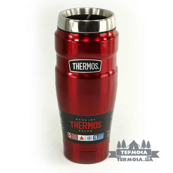 Термокружка Thermos King Travel Tumbler 0,47L - Cranberry (039)