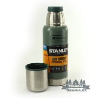 Термос Stanley Adventure  Vacuum Bottle 0,5L - Hammertone Green (253)
