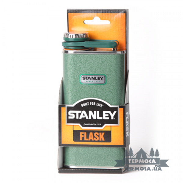 Фляга Stanley Classic Flask 236ml - Hammertone Green (245)