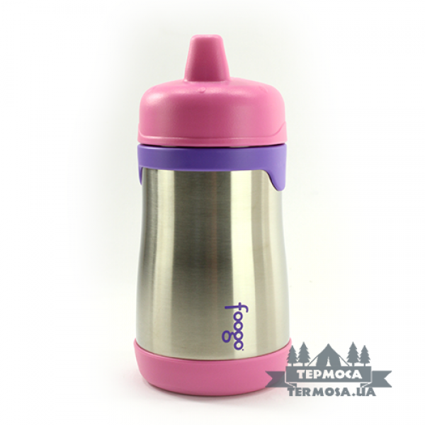 Термопоилка Thermos Foogo Hard Spout Sippy Cup 0,3L - Pink(128)