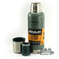 Термос Stanley Adventure Vacuum Bottle 0,75L - Hammertone Green (252)