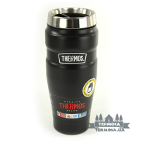 Термокружка Thermos King Travel Tumbler 0,47L - Matte Black (078)