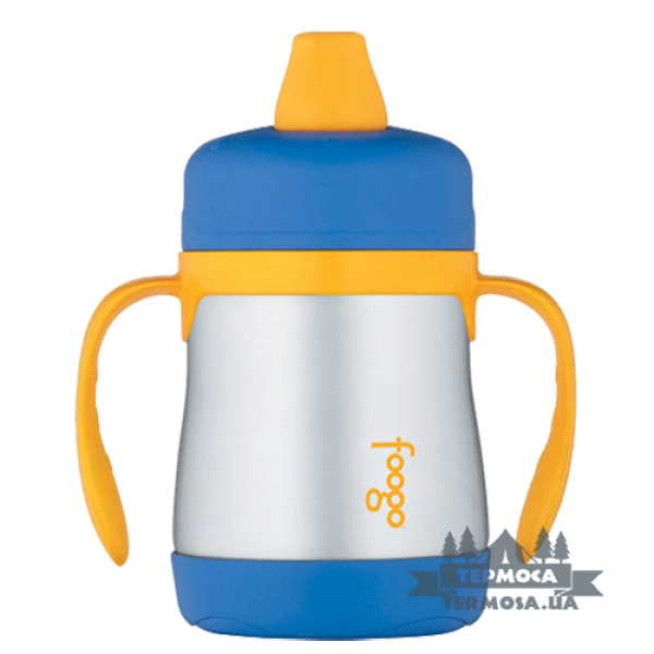 Поилка-термос Thermos Foogo Soft Spout Sippy Cup 0,2L - Blue(099)