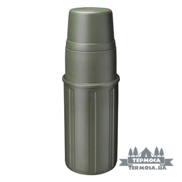 Термос Isosteel x-line Plastic Vacuum Bottle 1L - Green (320)