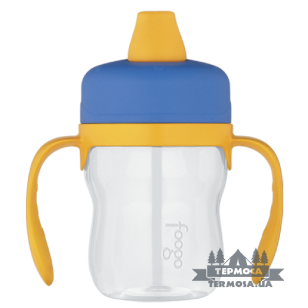 Бутылочка-поилка Thermos Blue Foogo Plastic Soft Spout Sippy Cup 0,2L (129)